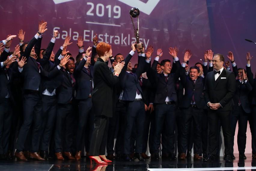 Piast Gliwice na Gali Ekstraklasy.