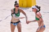 Kinga Wojtasik i Katarzyna Kociołek przegrały w pierwszej rundzie play-off z Brazylijkami. Zobacz zdjęcia