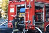 Pożar w bloku przy McDonald's w Piotrkowie. Potężne zadymienie, ludzie ewakuowani 10.09.2021 ZOBACZ ZDJĘCIA