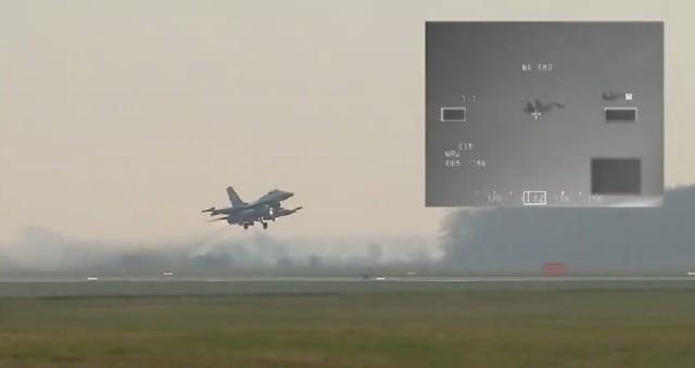 Holenderskie F16 w akcji