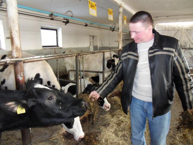 Marcin Gromada z miejscowości Ludzisko zwyciężył w rankingu hodowców (wg kilogramów mleka) w Kujawsko-Pomorskiem. Przeciętna wydajność - 13 037 kg.