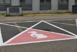 Warszawa: Miejsca parkingowe dla kobiet w ciąży przed urzędem dzielnicy Ursynów. Nie regulują ich żadne przepisy [ZDJĘCIA] [WIDEO]