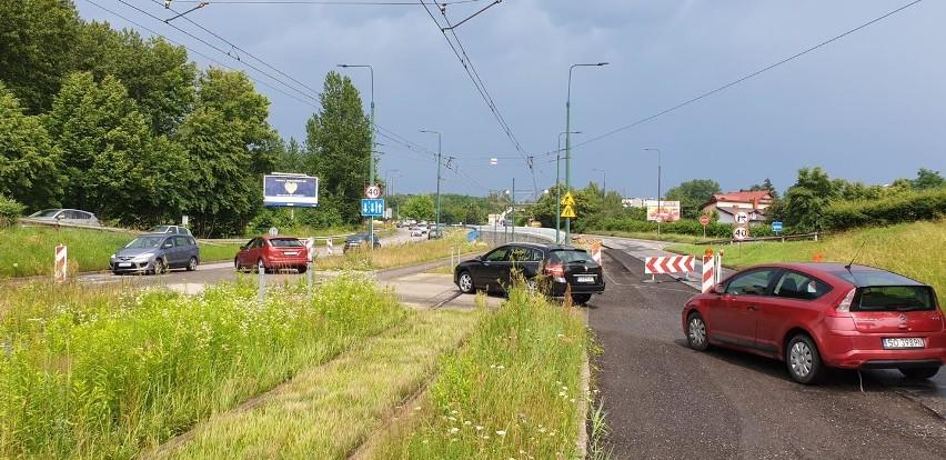 Remont tunelu tramwajowego na ulicy 3 Maja w Sosnowcu...