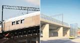 Kraków. Budują przystanek kolejowy na Grzegórzkach. Mieszkańcy porównują wizualizacje z rzeczywistością [ZDJĘCIA]