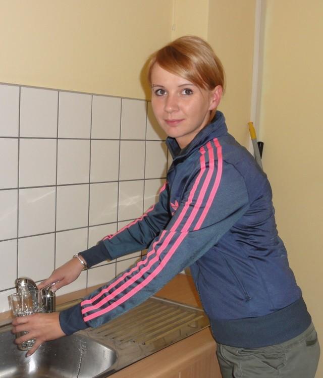 Ewelina Tralska z Brzeszcz zamierza kupić zmywarkę, by zaoszczędzić na wydatkach związanych z wodą