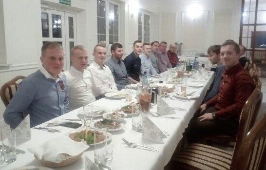 Przedstawiciele zasłużonego klubu Czarnovia Kielce mieli klubowe spotkanie opłatkowe.