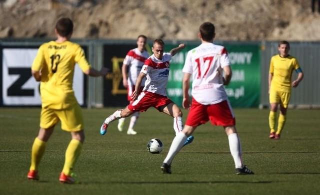 Piłkarze ŁKS po raz pierwszy wiosną zagrają na wyjeździe.
