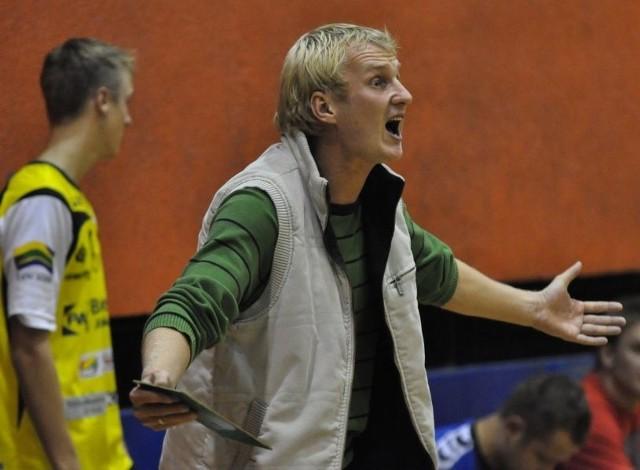 Trener Łukasz Morzyk