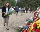 Powiat ostrowski. 76. rocznica buntu w Treblince. Uroczystości na terenie byłego obozu zagłady Treblinka II