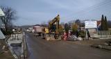 Psary. W trybie awaryjnym zamknięty został remontowany odcinek drogi wojewódzkiej 913. Kierowcy muszą uważać