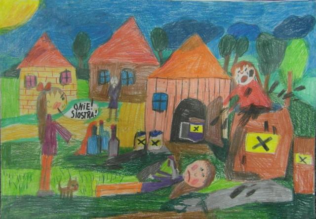 Dzieci wiedzą, że chemia może zabić. I namalowały zagrożenie