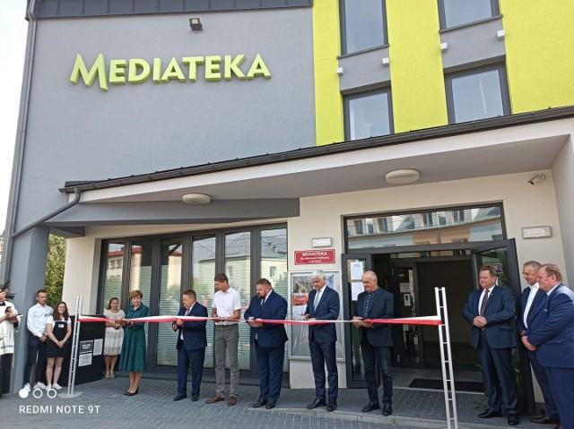 Otwarcie Mediateki w Mońkach