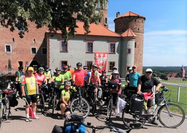 Kruszwicka Grupa Rowerowa zaprosiła cyklistów do objechania Szlaku Świętego Jakuba w województwie kujawsko-pomorskim