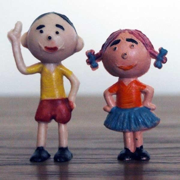 Bolek i Tola - zabawki z lat 70.