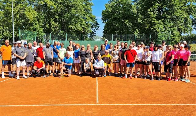 Drużynowe Amatorskie Mistrzostwa Województwa Lubuskiego w tenisie.