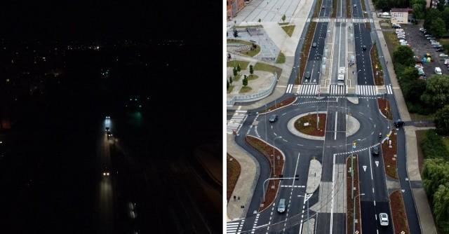 Ulica Szafera przez ostatnie miesiące przeszła gruntowny remont. Problem jednak wystąpił... z oświetleniem