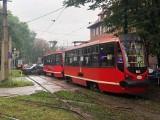 Zderzenie tramwaju z samochodem osobowym w Bytomiu. Trwa akcja służb