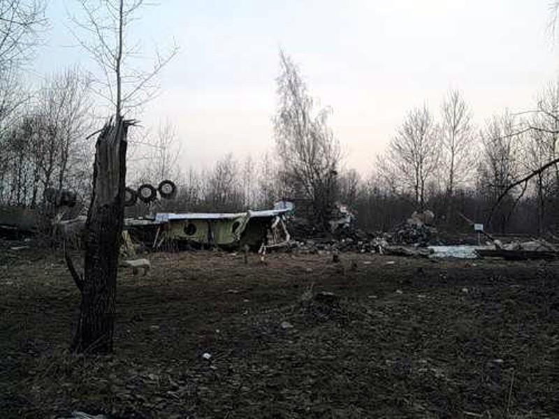 Katastrofa w Smoleńsku - drastyczne zdjęcia