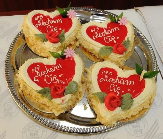 Walentynkowe słodkości