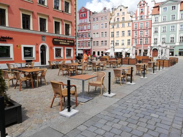 Letnie ogródki na wrocławskim Rynku czynne od poniedziałku 18 maja