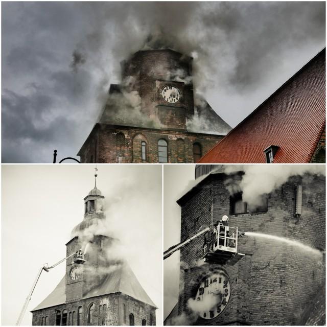 Nasi Czytelnicy fotografowali pożar katedry