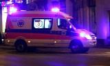 Nowy Sącz. Alarm gazowy w bloku. 86-latek w szpitalu