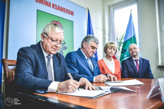 W czwartek podpisano porozumienie między ŁSSE a gminą Ksawerów w sprawie budowy nowej drogi