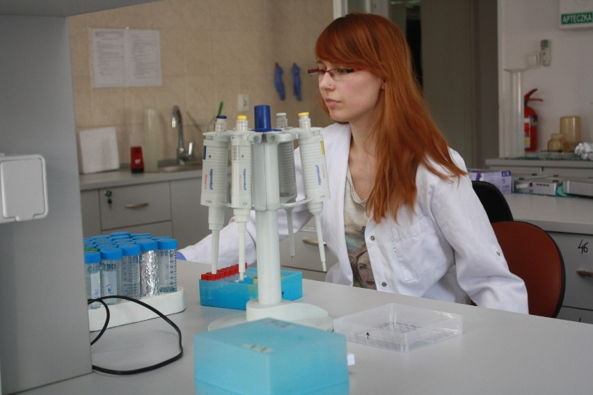 Paulina Patalas, student Uniwersytetu Medycznego i jeden z...