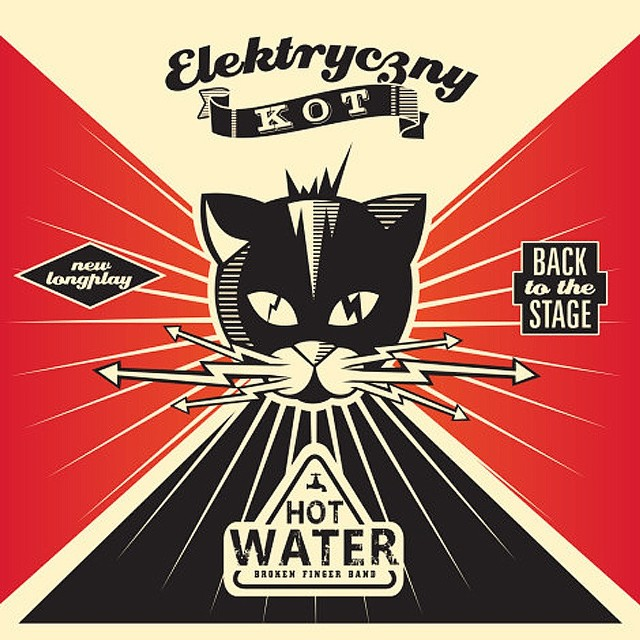 """""""Elektryczny Kot"""" to nowa płyta   grupy Hot Water"""