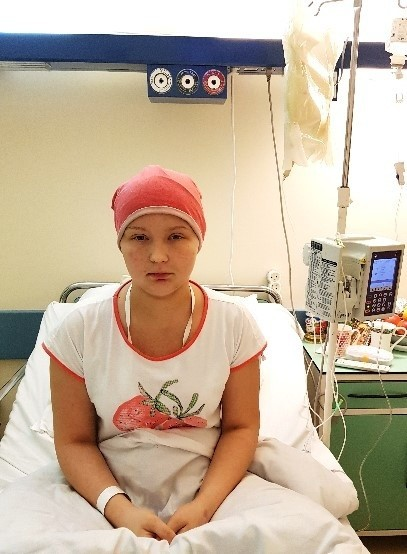 Dominika dzielnie walczy z chorobą. Szpital stał się jej drugim domem.
