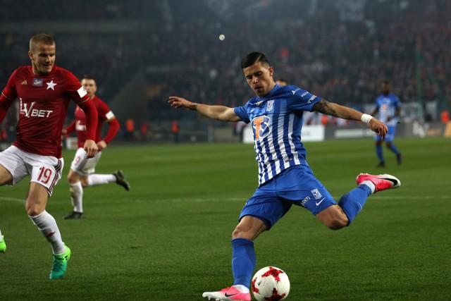 Darko Jevtić z Legią zagrał dobrze, ale to nie wystarczyło do zwycięstwa