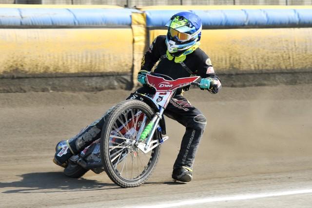 Mateusz Świdnicki bardzo lubi tor w Opolu.