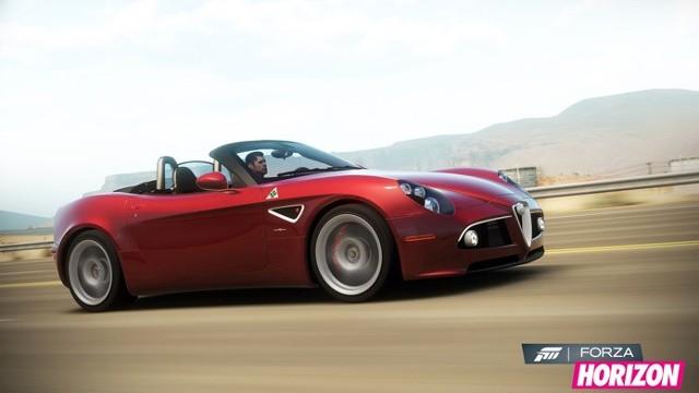 Forza horizonForza Horizon: Alfa Romeo 8C Spider