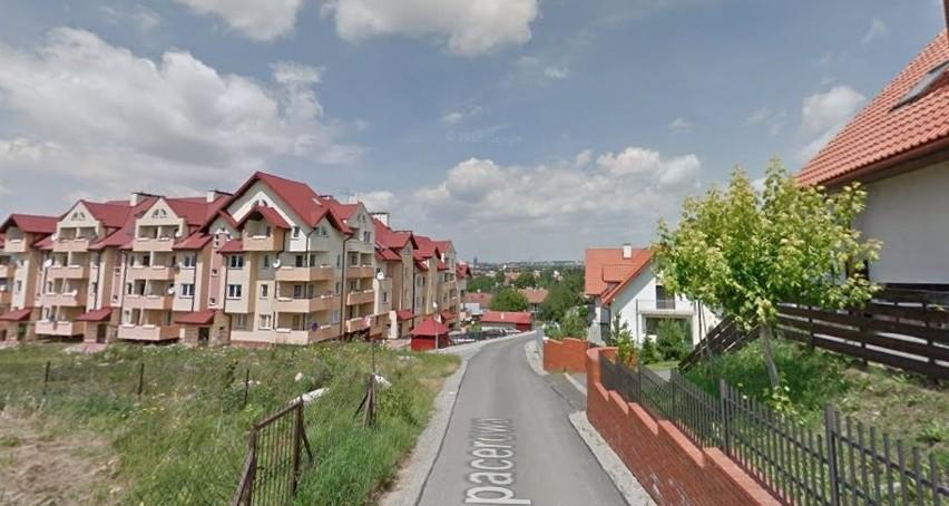 Ulica Spacerowa w Rzeszowie.