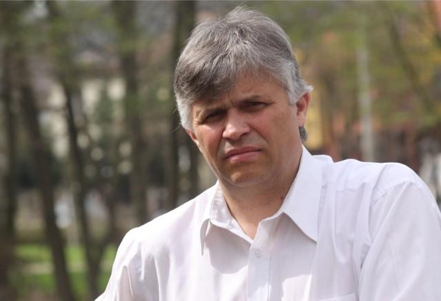 Kazimierz Klawiter ze Zrzeszenia Kaszubsko-Pomorskiego