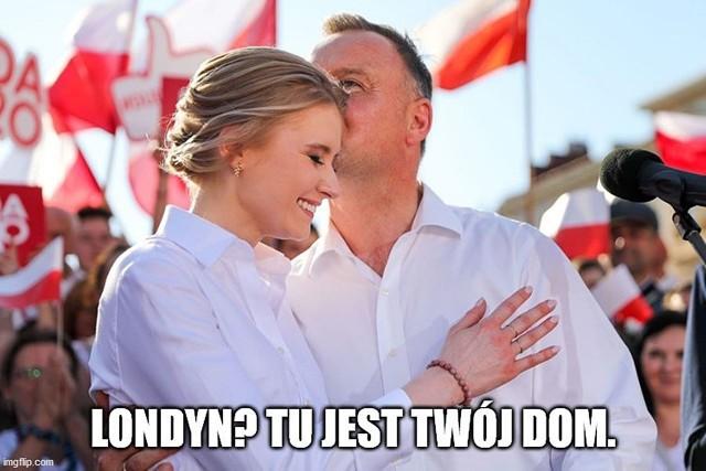 Kinga Duda Londyn zamienia na Polskę. Zobacz memy.Zobacz kolejne zdjęcia. Przesuwaj zdjęcia w prawo - naciśnij strzałkę lub przycisk NASTĘPNE