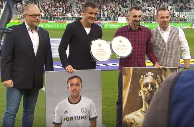 Legia Warszawa podziękowała zasłużonym piłkarzom. Kucharczyk: Na pewno tu wrócę