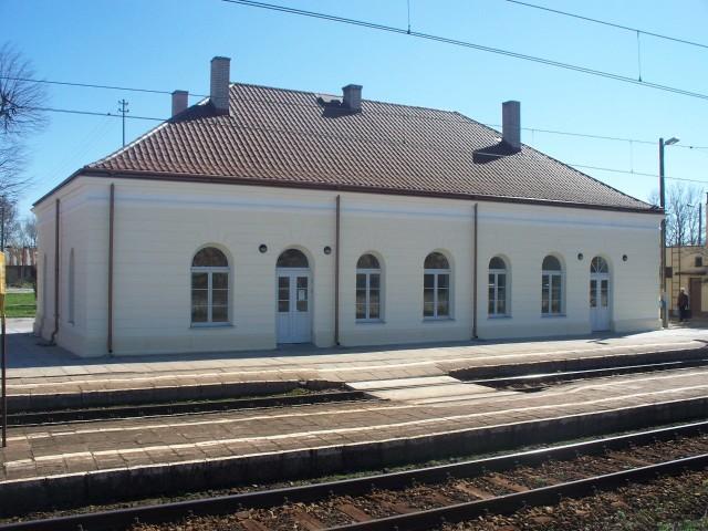 Budynek dworca kolejowego w Czyżewie