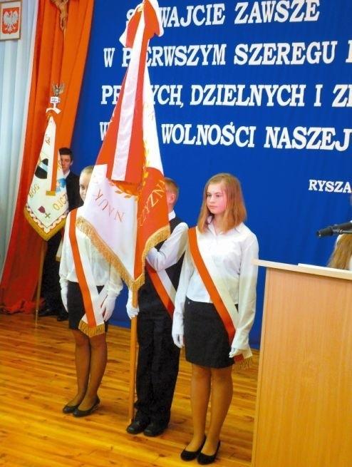 Uroczystości w SP w Strabli.