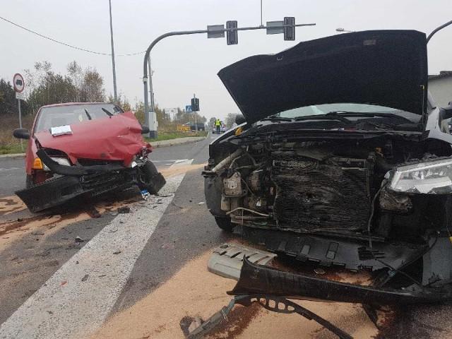 Wypadek w Chełmku. Rannych zostało pięć osób