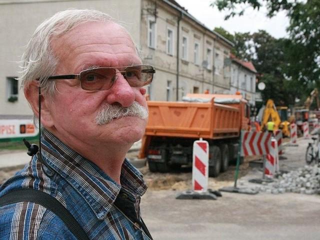 Ryszard Patorski: Mam pomysł, jak kierowcy mogliby omijać korki na Szopena.