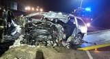 Śmiertelny wypadek w Rekowie Górnym 21.02.2021. Zginął 26-letni kierowca skody. Policja wyjaśnia okoliczności zdarzenia