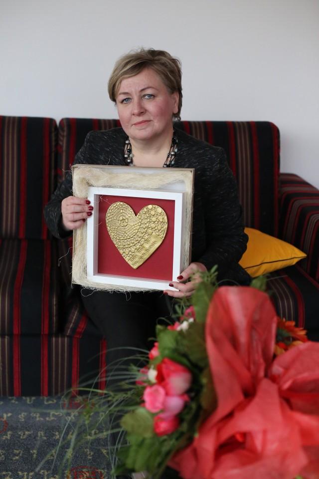 Nagrodzona Agata Pustułka