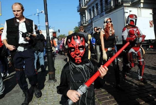 Parada postaci ulicami miasta to nieodłączny element każdej edycji StarForce