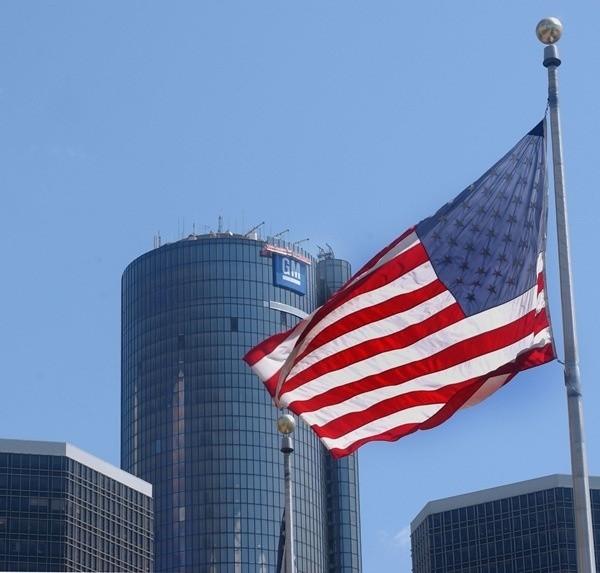 Siedziba koncernu GM w Detroit