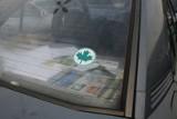 Listki na auta: zielone, srebrne i tęczowe... [FELIETON]