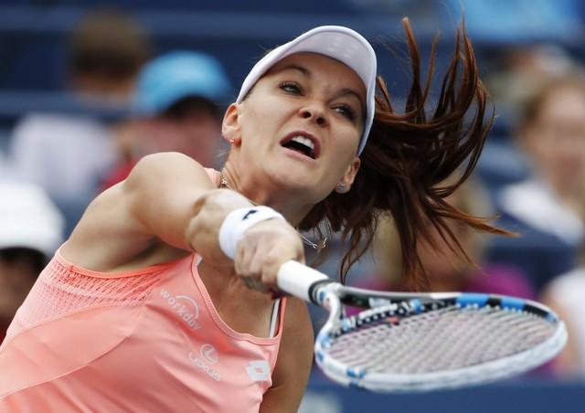 Agnieszka Radwańska - Caroline Garcia w III rundzie US Open.