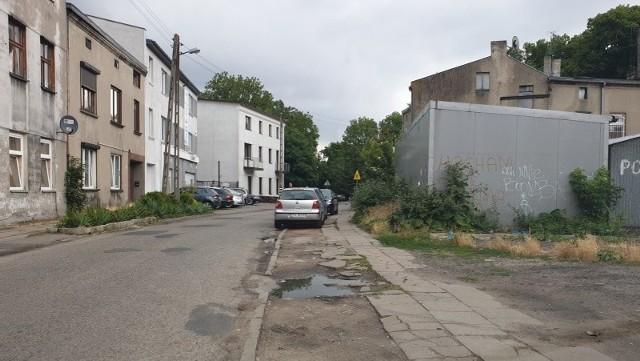 ... ale w Łodzi zdecydowanie więcej jest takich jak ten na ul. Wójtowskiej.