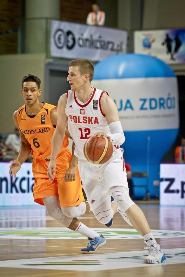 Adam Waczyński przewodził polskiej kadrze w obu sparingach z Holandią