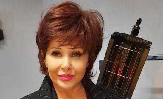 Aldona Orman w nowej fryzurze